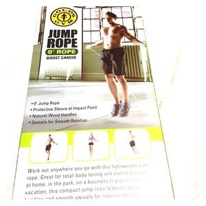 Jump Rope new in box Golds Gym